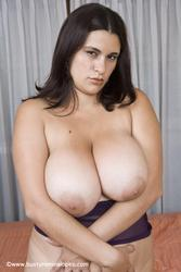 Image 22 of Romina Lopez's huge titties in purple