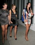 Lauren Conrad,Audrina Patridge and Lauren Lo Bosworth very leggy at Kumo Restaurant, Los Angeles
