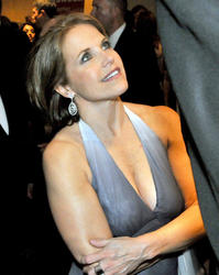 "KATIE COURIC - CLEAVE! - ""White House Correspondent's Dinner""  - (April 26, 2008) - *lowcut cleavage*"