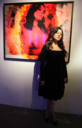 Jennifer Tilly @ Reception of Paul Robinson's 'Transparent' in West Hollywood